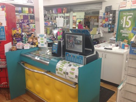 Lotteries & Newsagency & Post Office - Free Spending Area