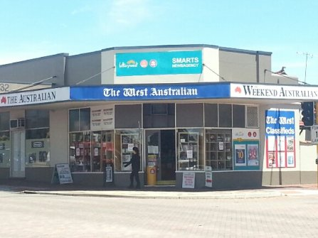 Newsagency with ample storage. Ideal for migrants into Australia